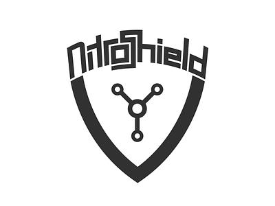 NitroShield Logo (WIP) nitro shield nitrogen nitrous atom molecule