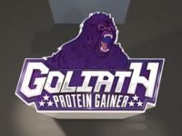 Goliath Logo 3D
