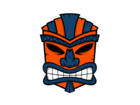 Castaways Mask Only Logo