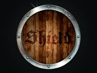 Wood and Metal Shield