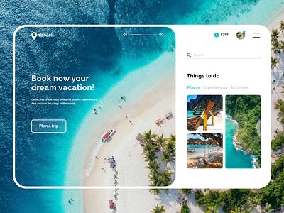 Travel site travelling web branding minimal webdesign travel app uiux ui travel