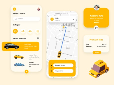 Taxi Booking mobile app @ride @mobileapp @servicedesign @service @taxi @design @transport @logistic @mobile @uxdesign @clean @ui @style @interface @business @application @uiux design @user experience @apps