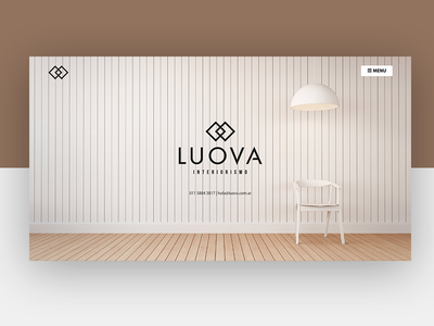 Luova Interiorism website landing website interiorism