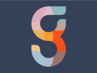 Monogram color palette color monogram design monogram logodesign logo illustrator digital