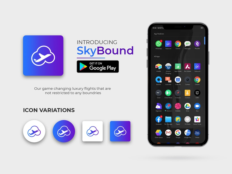 App Icon | SkyBound Airlines