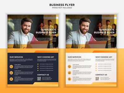 Corporate Business flyer design trendy nhdgraphic