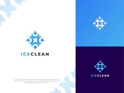 SNOW CLEAING SERVICE LOGO DESIGN ui freepik nhdgraphic logo design shot dribbble snow cleaning gradient gridline trendy colorful branding logo