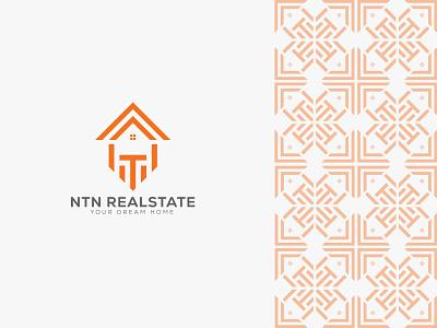 Real estate Minimal Logo brand identity home logo pattern logo design branding flat minimalist logo simple logo home page modern logo real estate logo creative logo minimalist logo logodesign