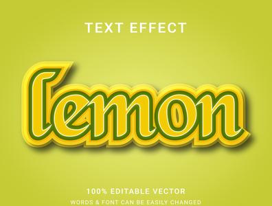 Full editable text effect branding typography editable text effect design tools design a logo type logo