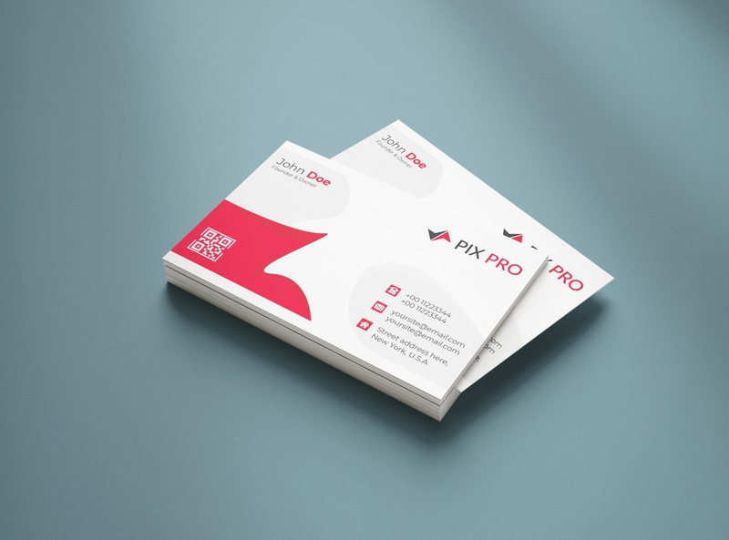Personal Corporate Business Card visiting card minimal company brand professional corporate business card