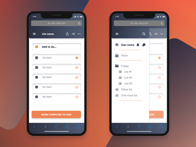 to-do-app figma app design ux ui