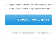 Authentic Themes - Checkout