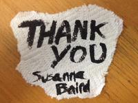 Thank You Susanna Baird
