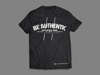 #beauthentic T-Shirt Mock Up