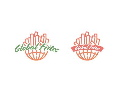 Global Frites Logo logo