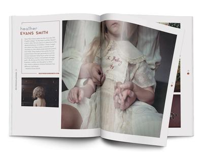 Dotphotozine Spread design magazine print