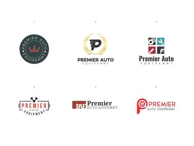 Premier Auto Logo Ideas logo
