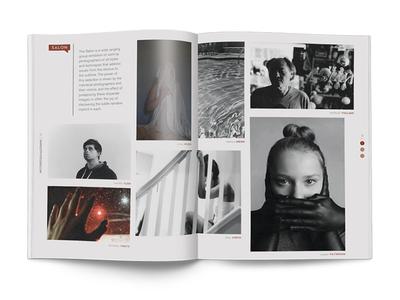 Dotphotozine Salon Spread design magazine print