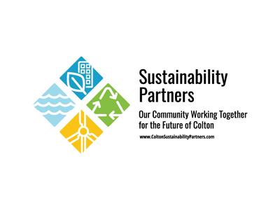Sustainability Partners Cling logo design