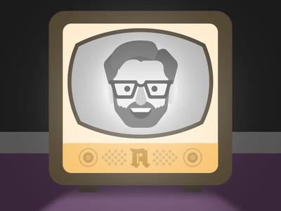Tomorrow on Twitch! illustration illustrator vector retro twitch tv