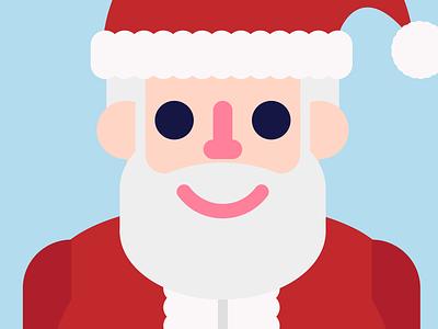 Santa people illustrator face vector illustration christmas santa