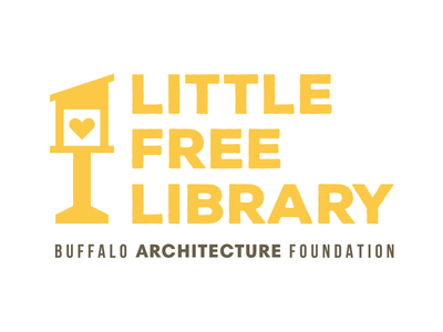 Little Free Library illutrator vector brand logo books love nonprofit library