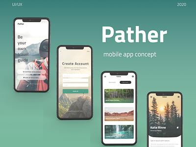 UI/UX mobile app concept web typography design figma design mobile app design mobile ui ui  ux