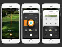 Golf Simulator Screen Sequence