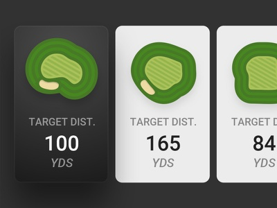 Target Selection Detail sketch mobile app mobile ios golf ux vector sports ui
