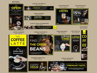 Coffee Template Design