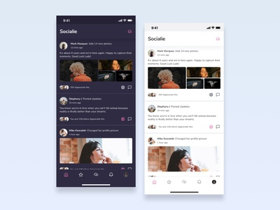 Social App UI Kits