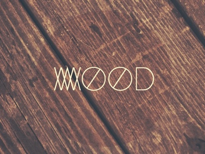 Wood Mood wood mood typo type typography typeface lettering modding design alphabet sans