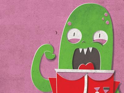 Alien Invasion Valentine Teaser cut paper valentine childrens book alien