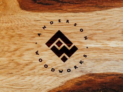 Logo: Anderson Woodworks
