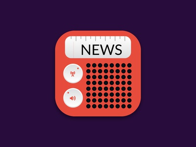 news app icon design