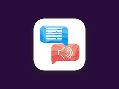 chat app icon design