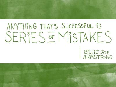 Make Interesting Mistakes