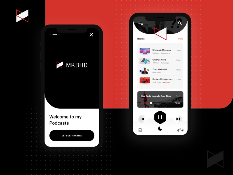 Podcast app for MKBHD
