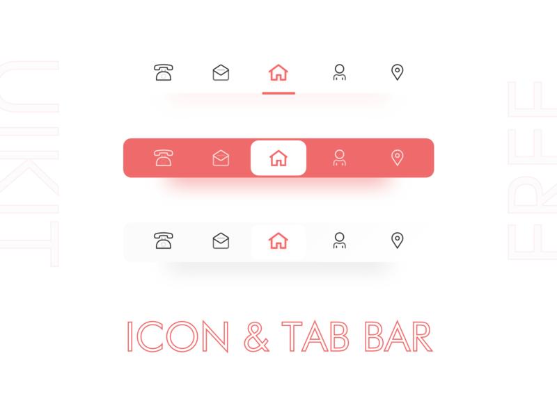 Tab Bar design  for you guys