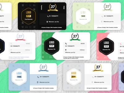 Bussines card designs logo clock app smarthome adobexd design ui app minimal illustration creative branding