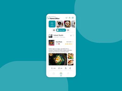 Delivery partner social app typography adobexd design app ui ux minimal illustration creative branding