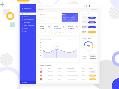 Digital Payment Dashboard purchase records transaction outstanding balance credit card card payment method payment digital concept ui uxdesign ux design conceptdesign cleandesign clean app adobexd