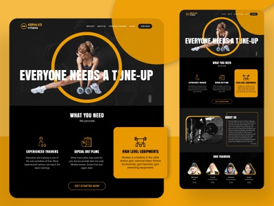 Fitness Gym training education accesories diet trainers equipments meal planner fitness gym artwork artist uxdesign ux ui design conceptdesign cleandesign clean app adobexd