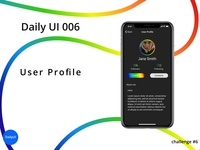 User Profile for Daily UI challenge.