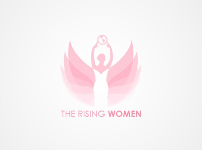 The Rising Women Logo