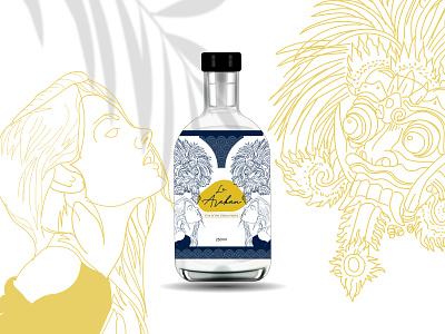 LE ARAKAN DESIGN PACKAGING vintage bali packaging packaging design illustration design branding alcohol branding alcohol packaging soda