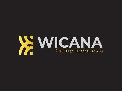 WICANA GROUP INDONESIA - COMPANY LOGO vector luxury logo logodesign elegant design minimalist logo logo design branding