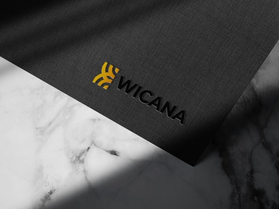 WICANA GROUP INDONESIA LOGO MOCKUP coffee branding logodesign logo mockup mock-up logo packaging design illustration design branding