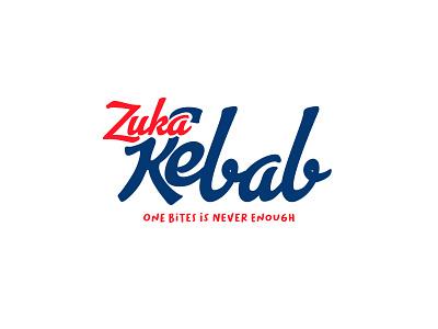 ZUKA KEBAB LOGO vector classic logodesign logo packaging design branding design food design