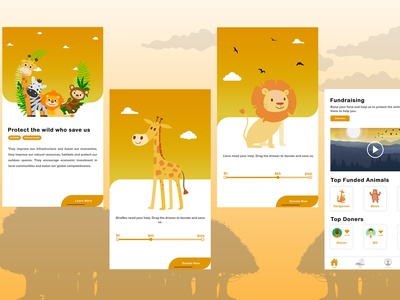 Fundraising App To protect Wild Life
